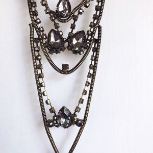 Free People Edgy Statement Necklace